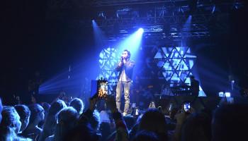 Amir concert à la palestre le 15 Octobre 2017