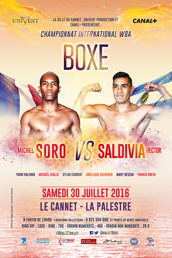 Boxe – Championnat international WBA Super-Welters