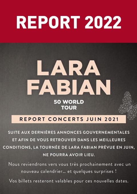Lara Fabian – CONCERT ANNULÉ