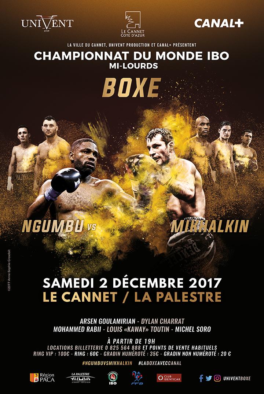 Boxe – Championnat du monde IBO mi-lourds
